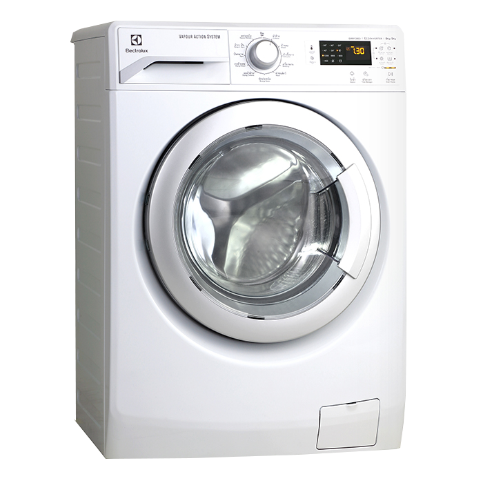 Dryer drawing washer. Kg vapour care
