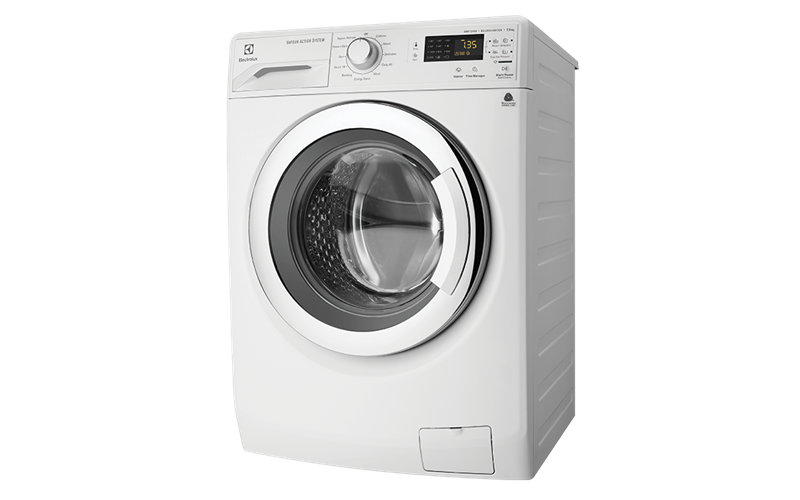 Dryer drawing washing machine. Kg vapour action