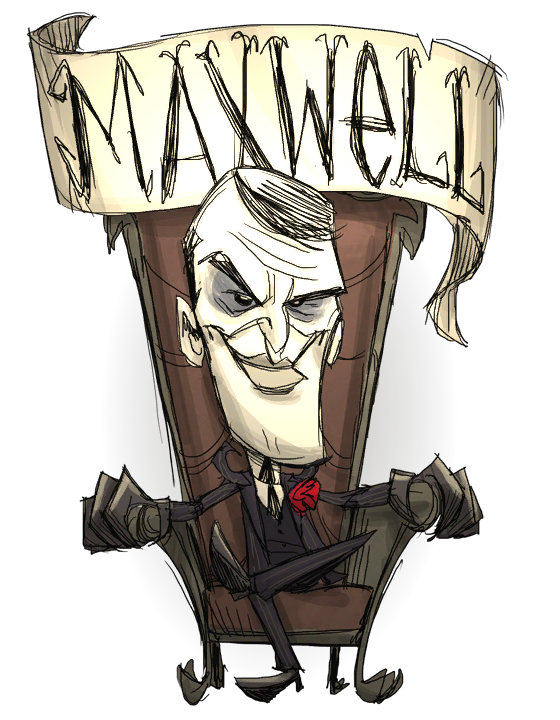 Ds drawing character. Maxwell don t starve