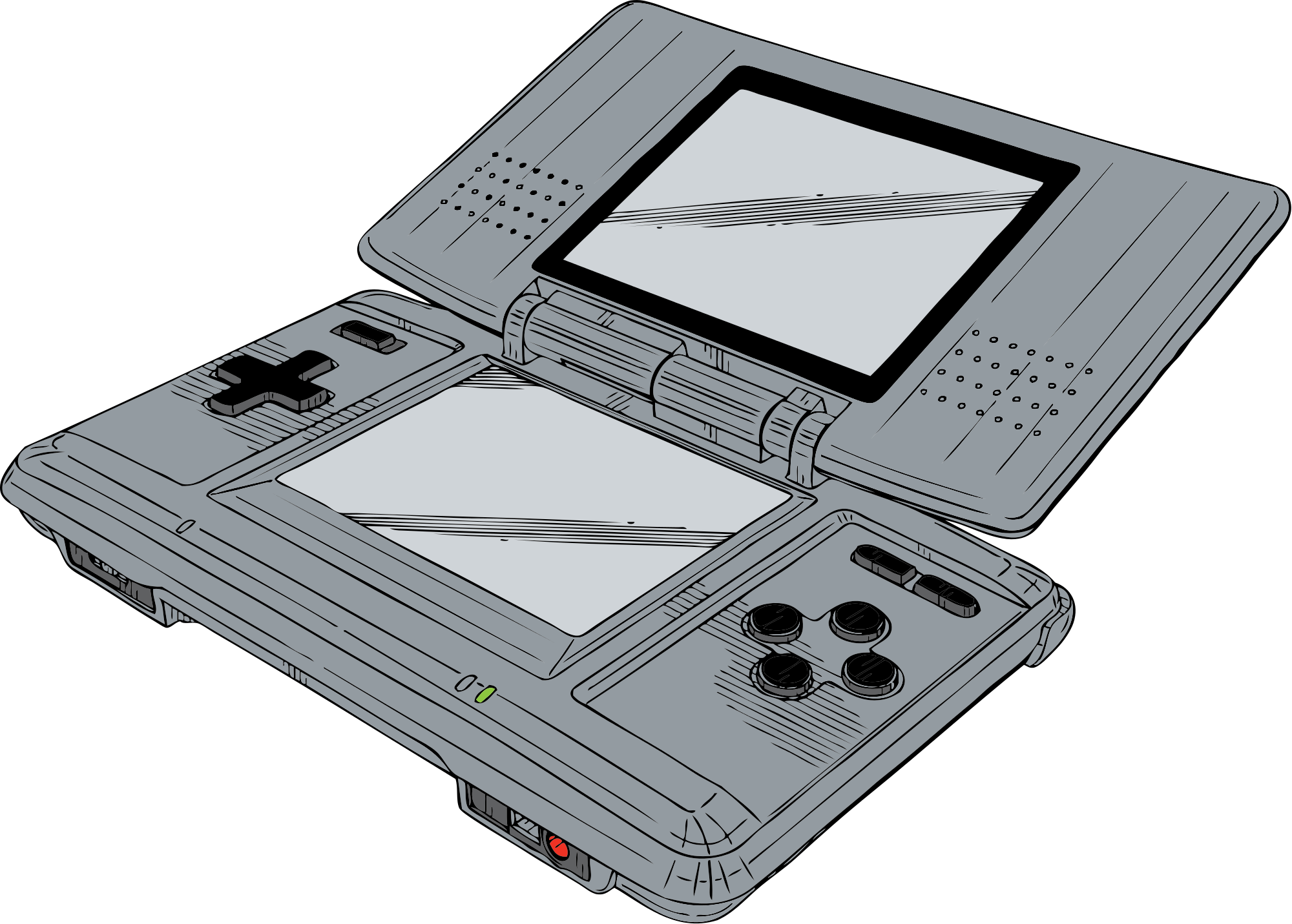 Ds drawing nintendo. File svg wikimedia commons