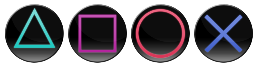 Ds4 buttons png. Alien isolation playstation ui