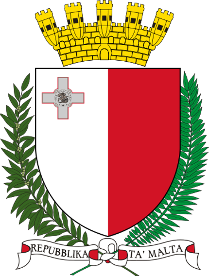 Dsp coat of arms vector png. Malta i remember being