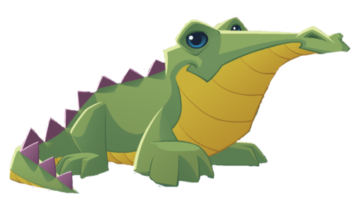 Duck clip crocodile. Image graphic png animal