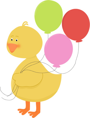 Duck clip spring. Yellow encode clipart to