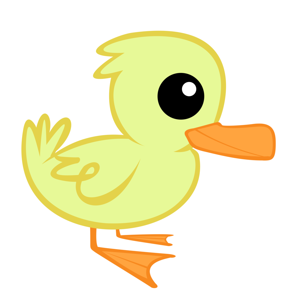 Absurd res animal. Vector duck little picture freeuse download