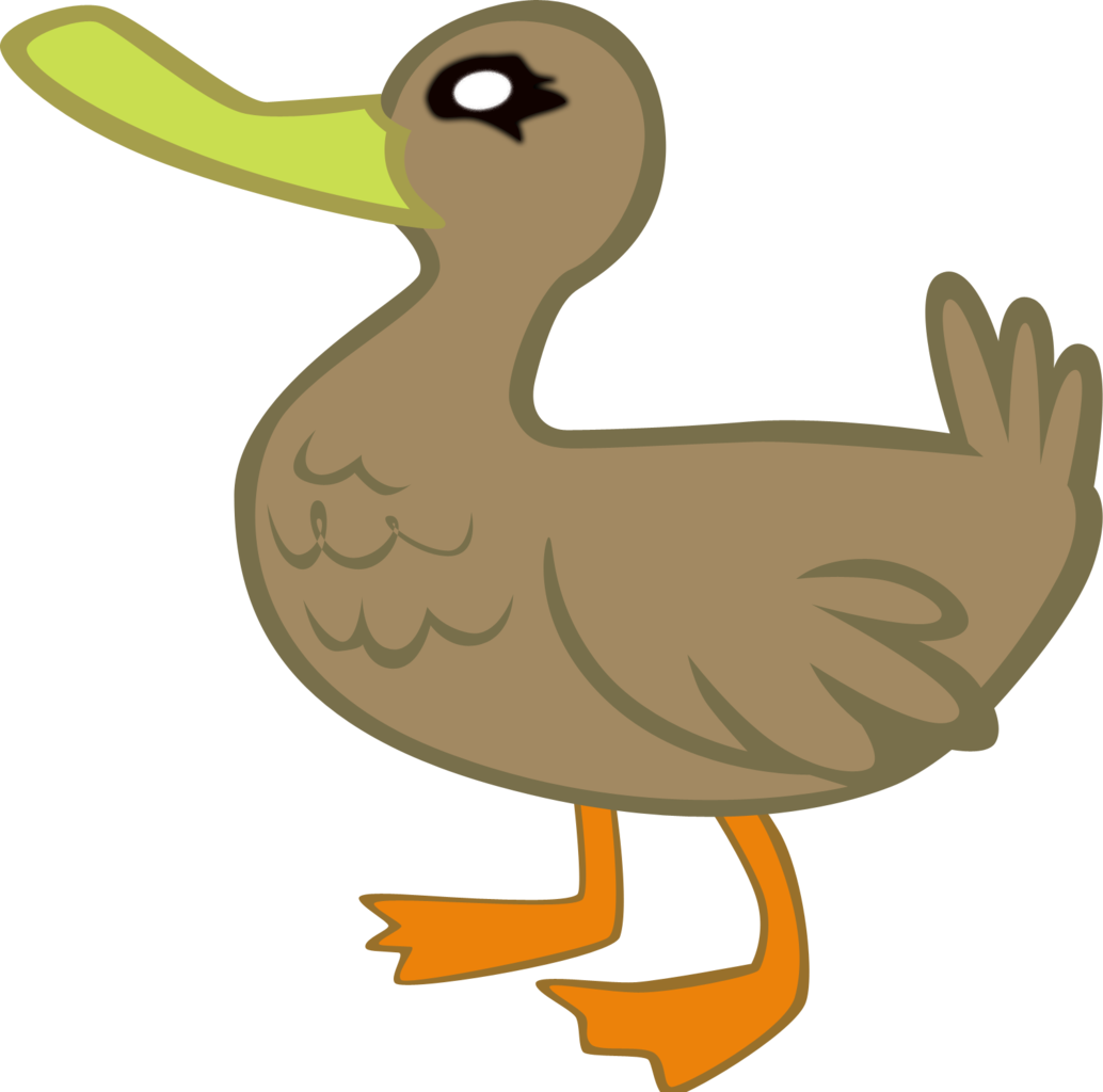Animal artist m. Vector duck little image freeuse library