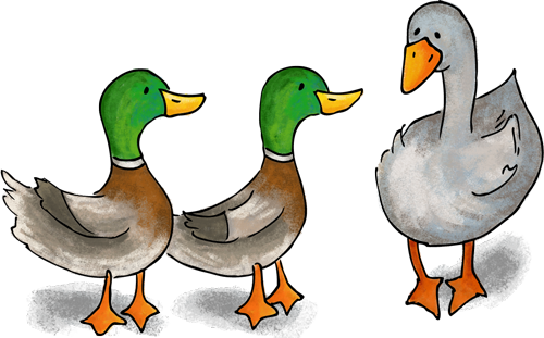 Duck clipart game. Goose the gal posted