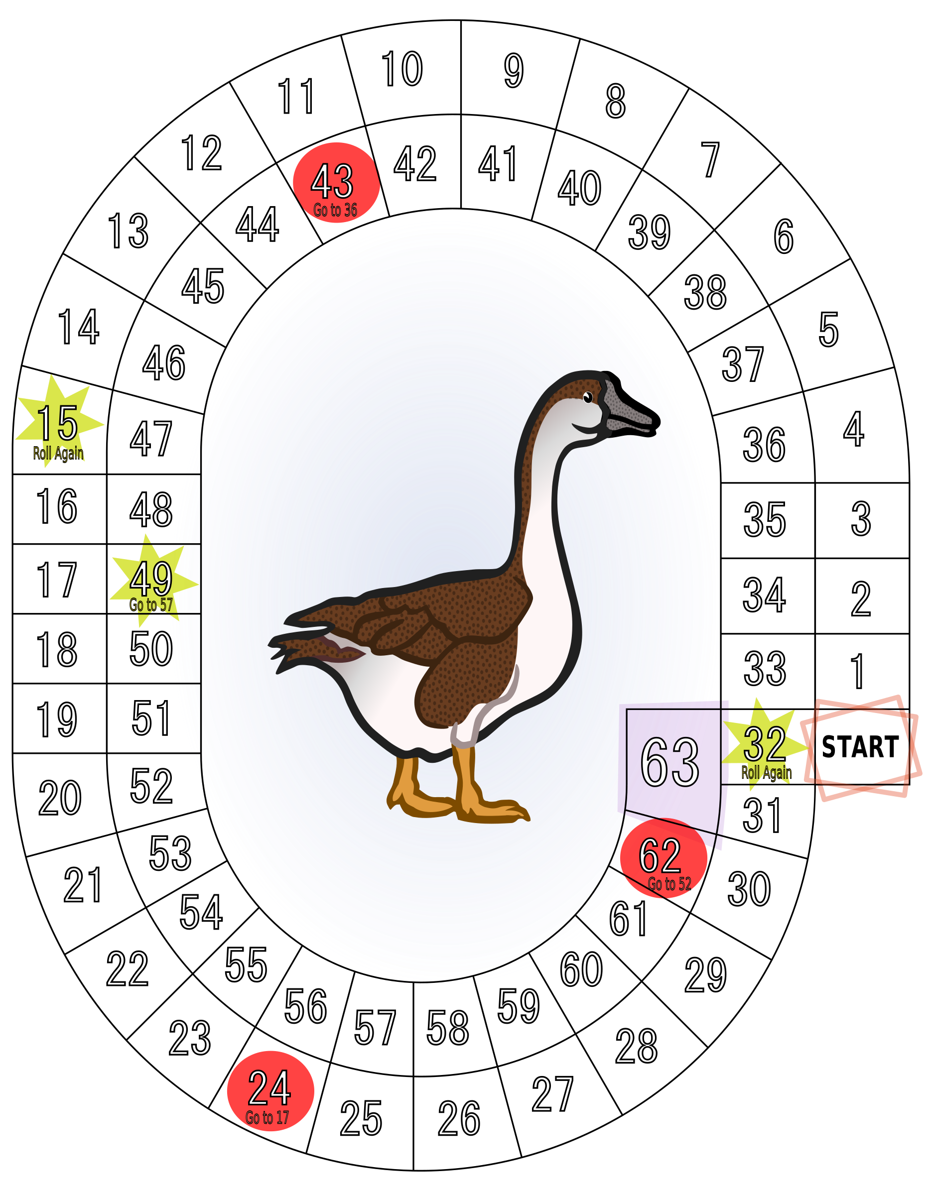 Duck clipart game. Of the goose big