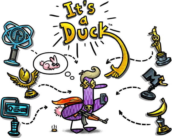 Duck game logo png. It s a its