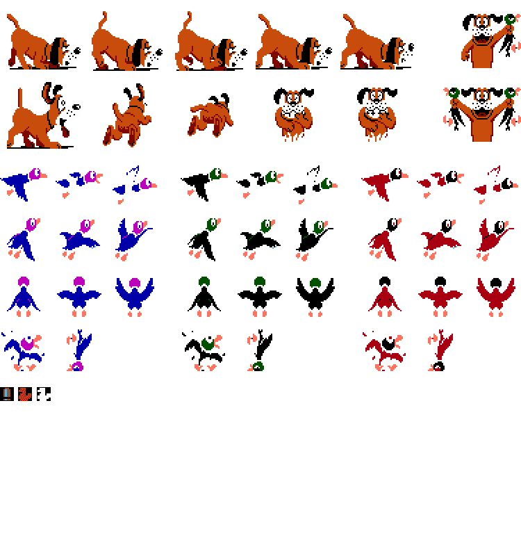 duck hunt duck png