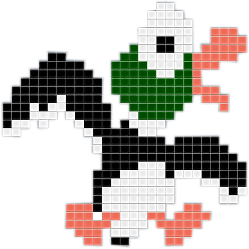 Duck hunt duck png. Dock icon by dr