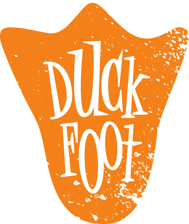Duck paw. Meet foot beer san