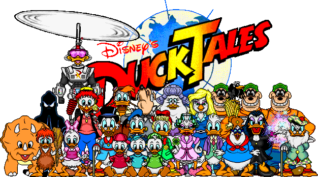 Duck tales nes png cover. My first time with