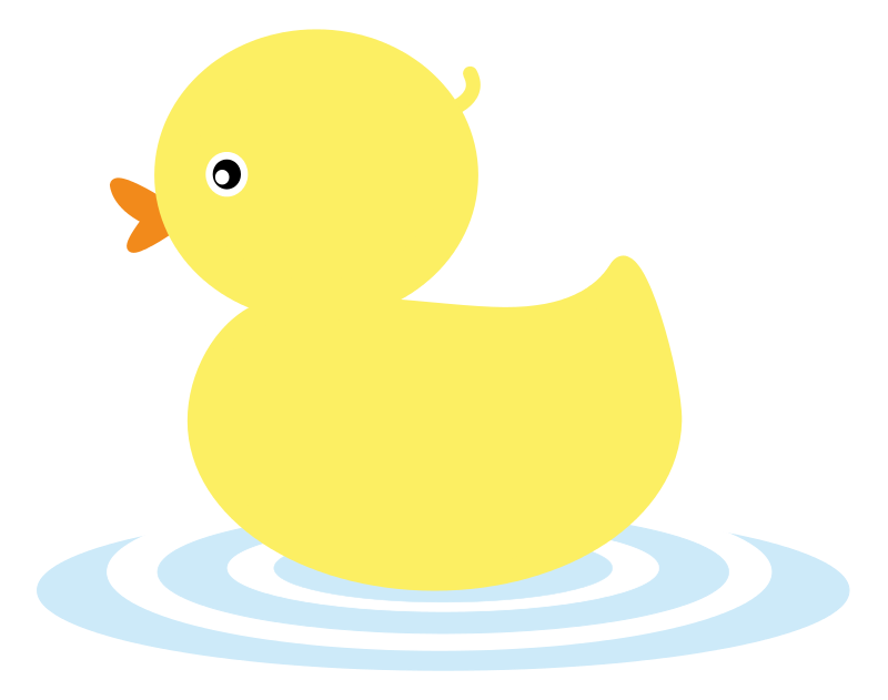 Duckling clipart red duck. This cute yellow clip