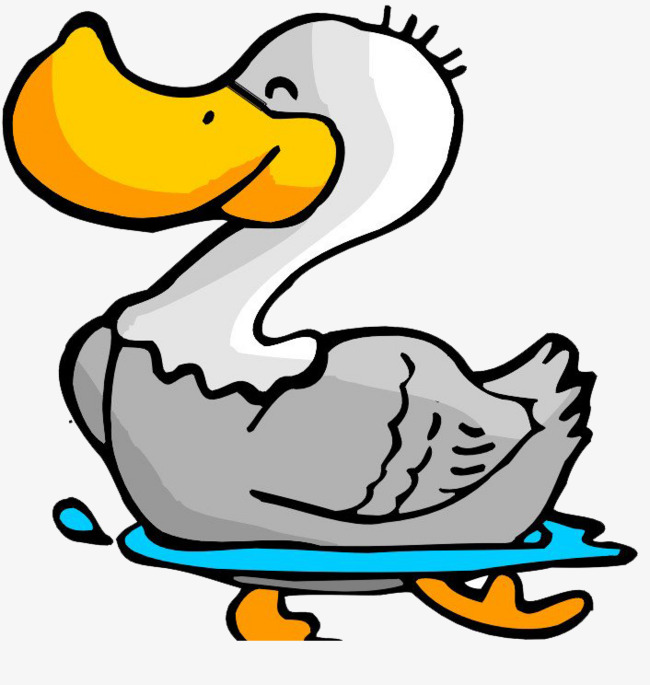 Animation png image and. Duckling clipart red duck vector library library