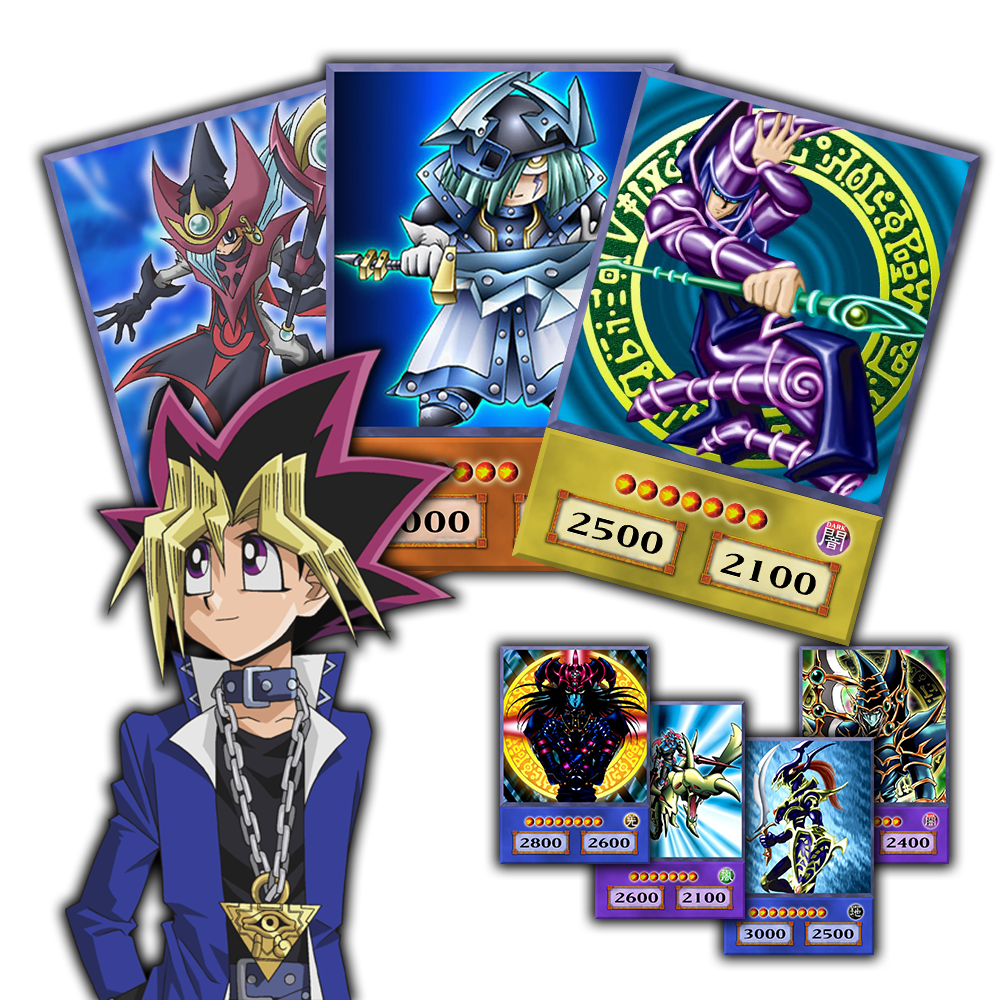 Duel monster cards png. Monsters series yami yugi