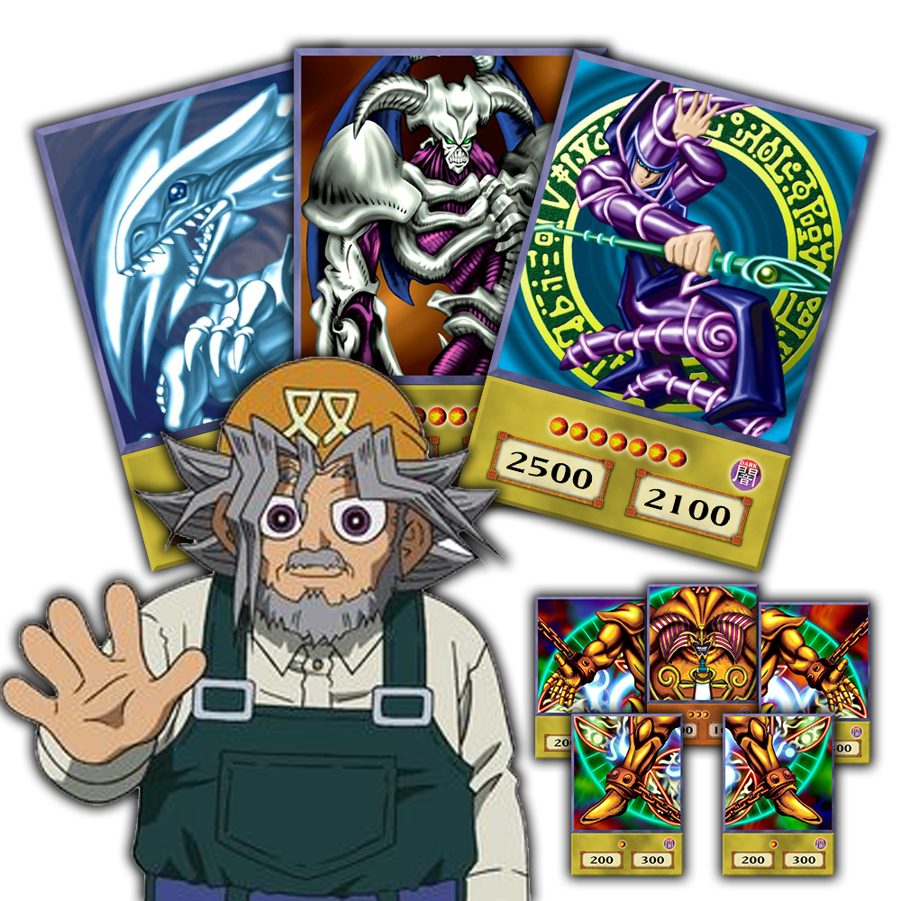 Duel monster cards png. Solomon muto anime style