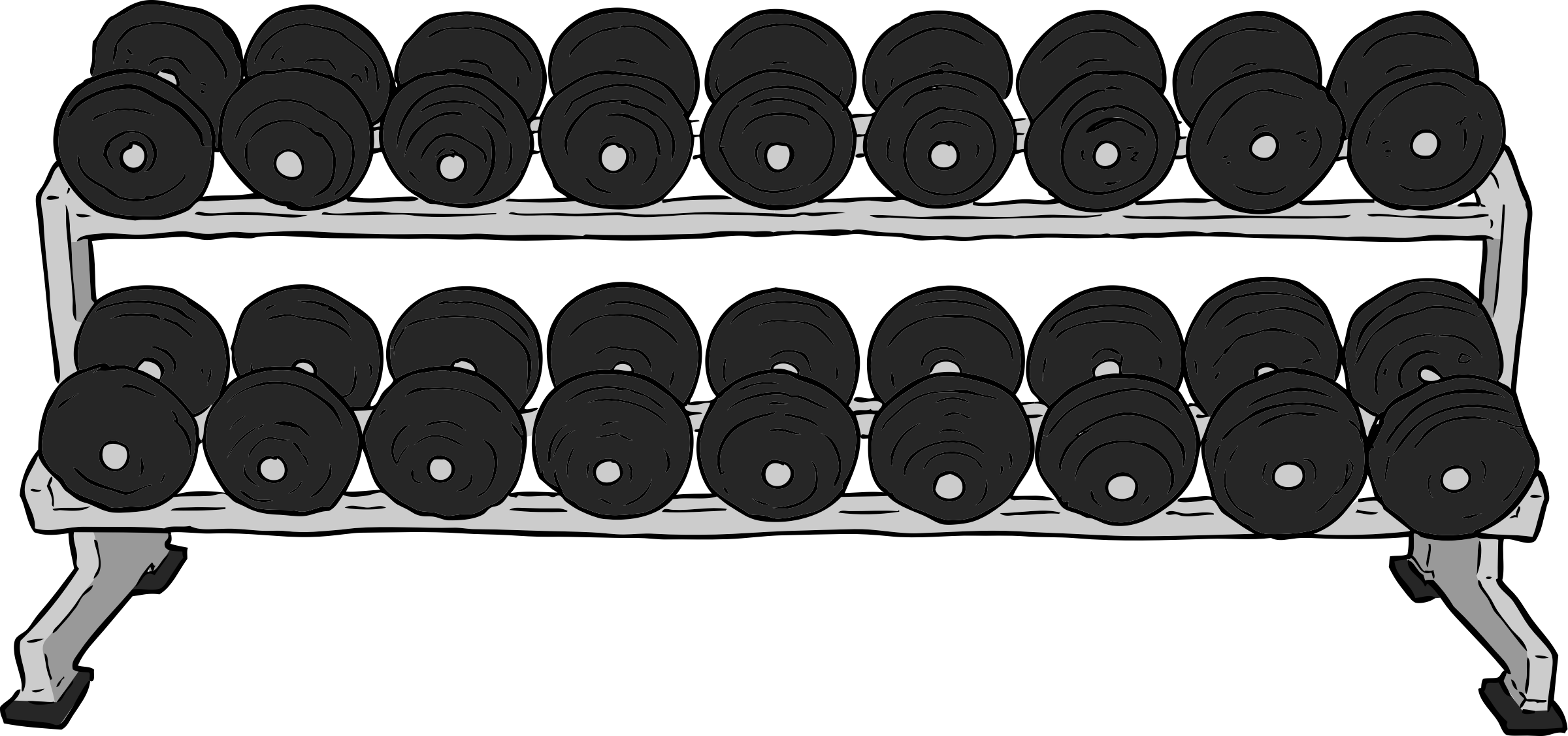 Weights svg animated. Dumbbells clipart clip arts