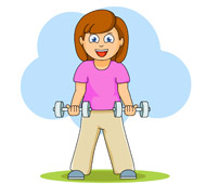 Dumbbell clipart excersie. Search results for dumbell