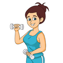 Dumbbell clipart excersie. Search results for clip