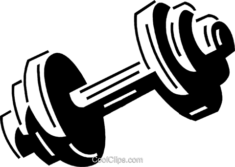 Dumbbell clipart extended family. Weight free frames illustrations