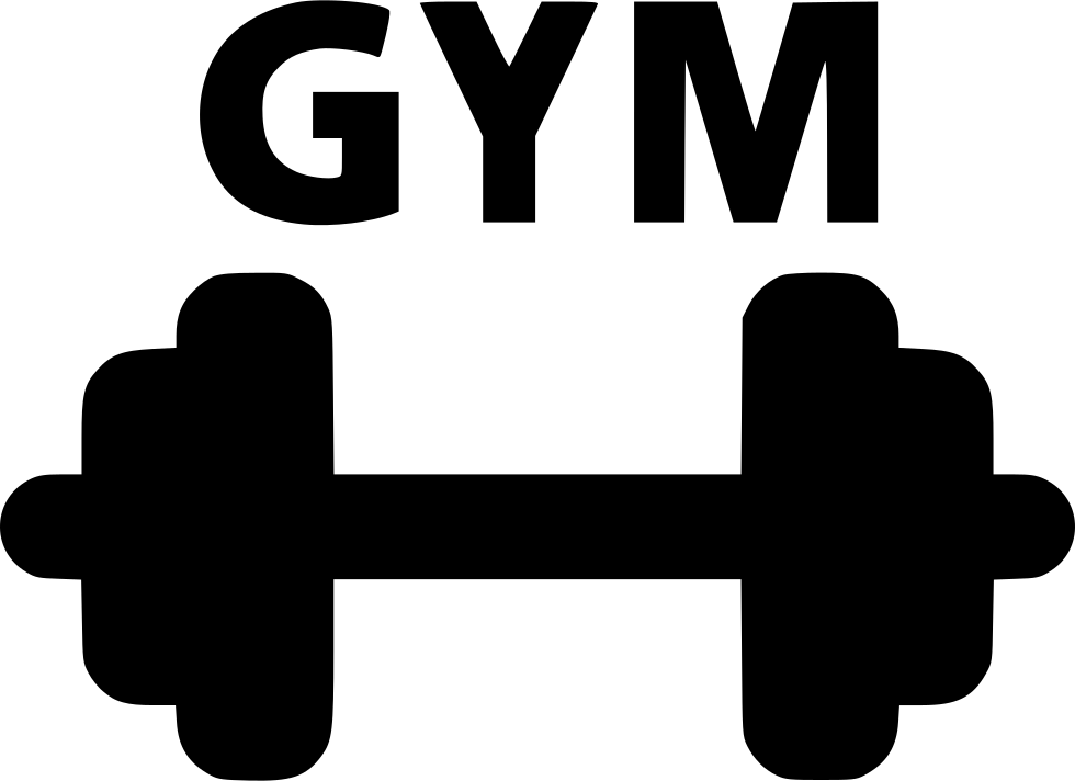 Dumbbells clipart gym tool. Dumbbell svg picture royalty free