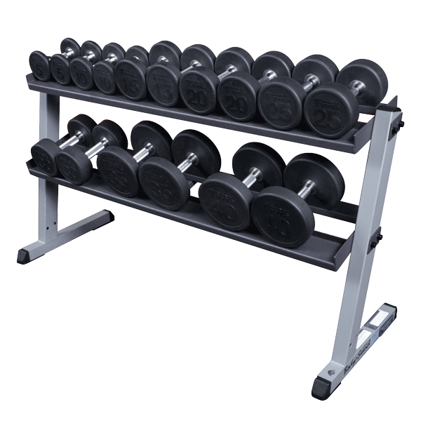 Dumbbell rack png. Body solid g fitness