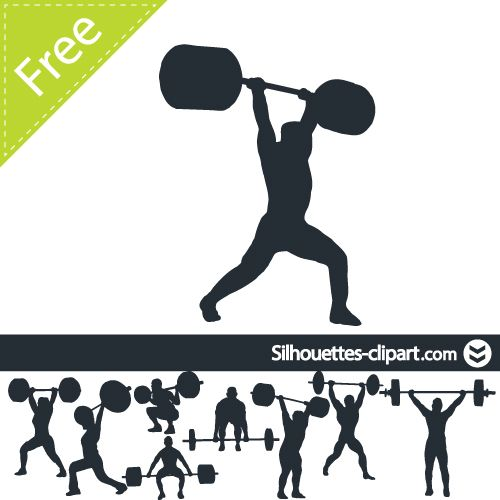 Lifting clipart el gimnasio. Best awesome weight