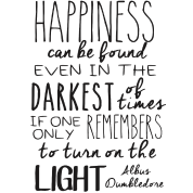 dumbledore quote png happiness picture dumbledore quote