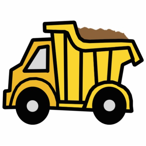Dump clipart. Truck pictures for kids
