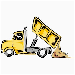 Dump clipart dumping ground. Truck beautiful ideas awesome