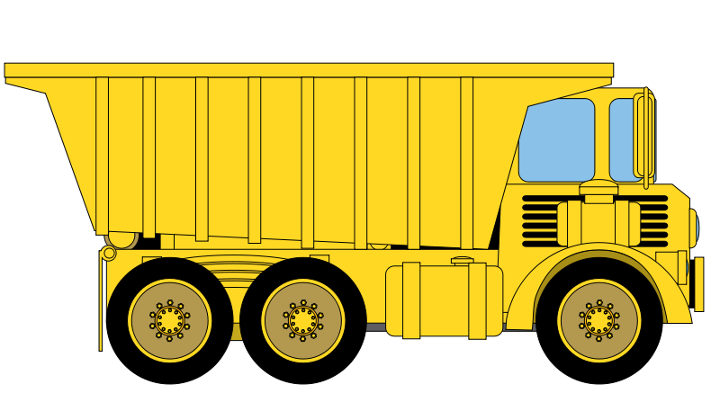 Dump clipart sand truck. Free pictures download clip