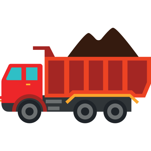 Loaded icon myiconfinder . Dump clipart sand truck vector royalty free download