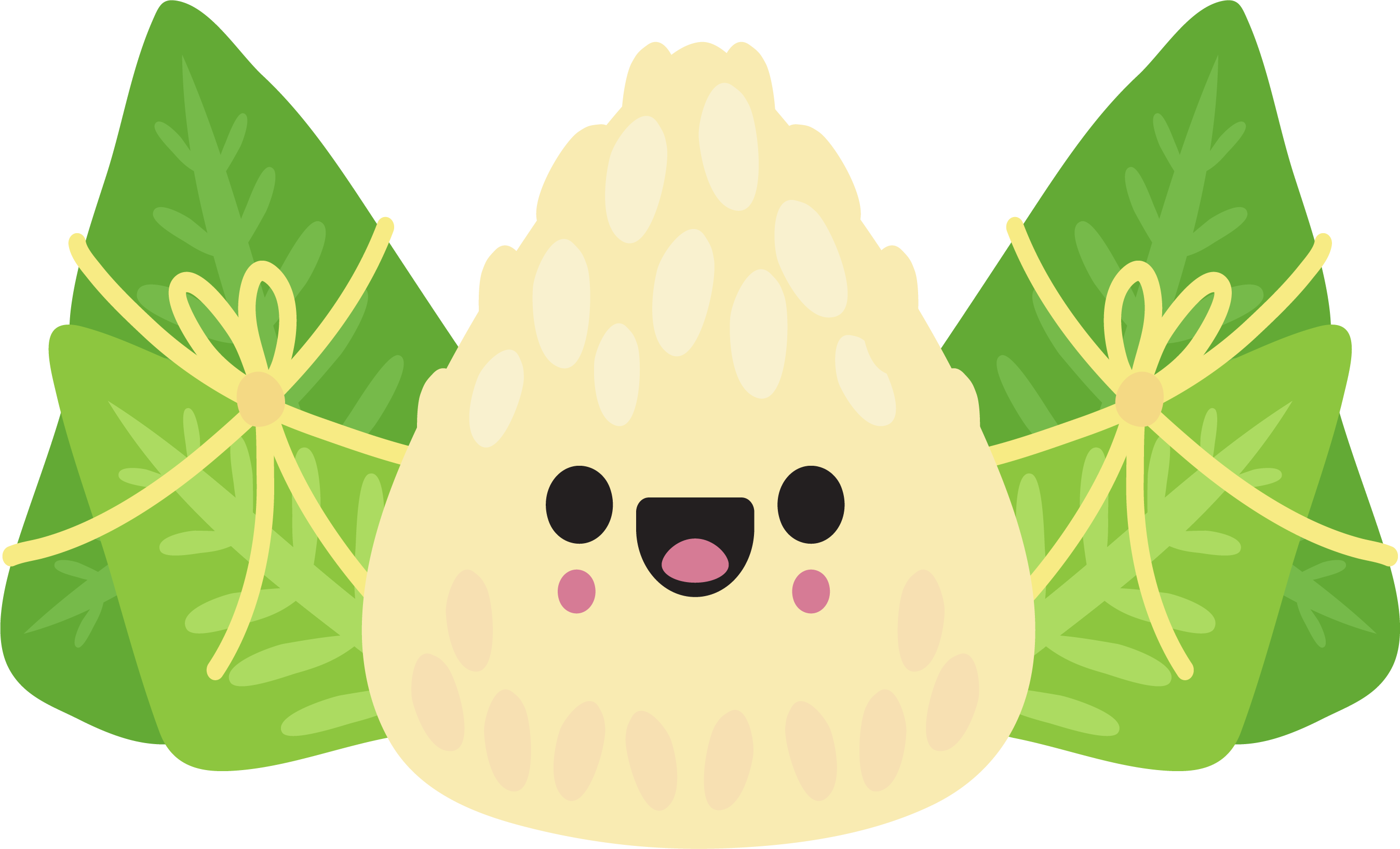 Dumpling vector cartoon. Zongzi dragon boat festival