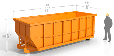 Dumpster transparent yellow. Jux dumpsters yard containers
