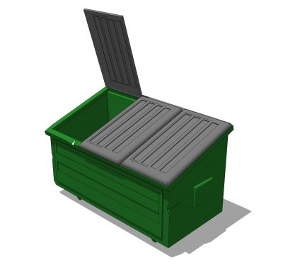 Dumpsters. Free green dumpster cliparts