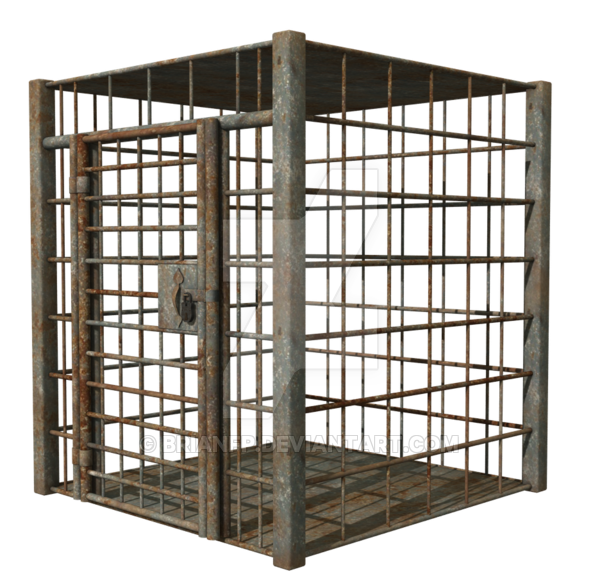 Dungeon cage png. Cell props by brianfp