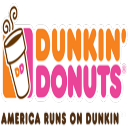 Dunkin donut logo png. Donuts roblox