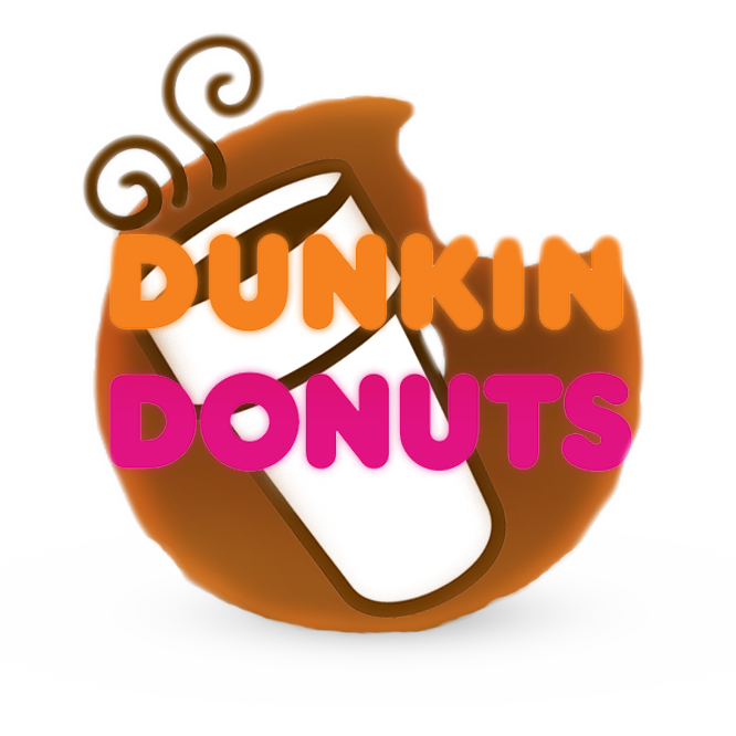 Dunkin donuts logo png. Roblox by billycurve coffee