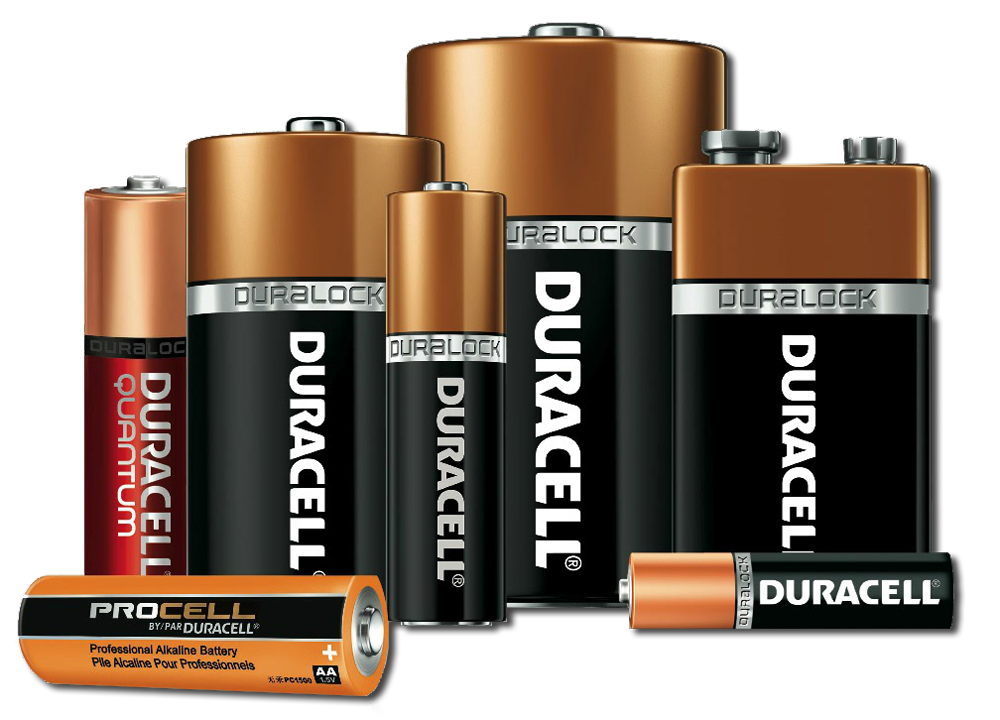 Duracell battery png. Which is best for