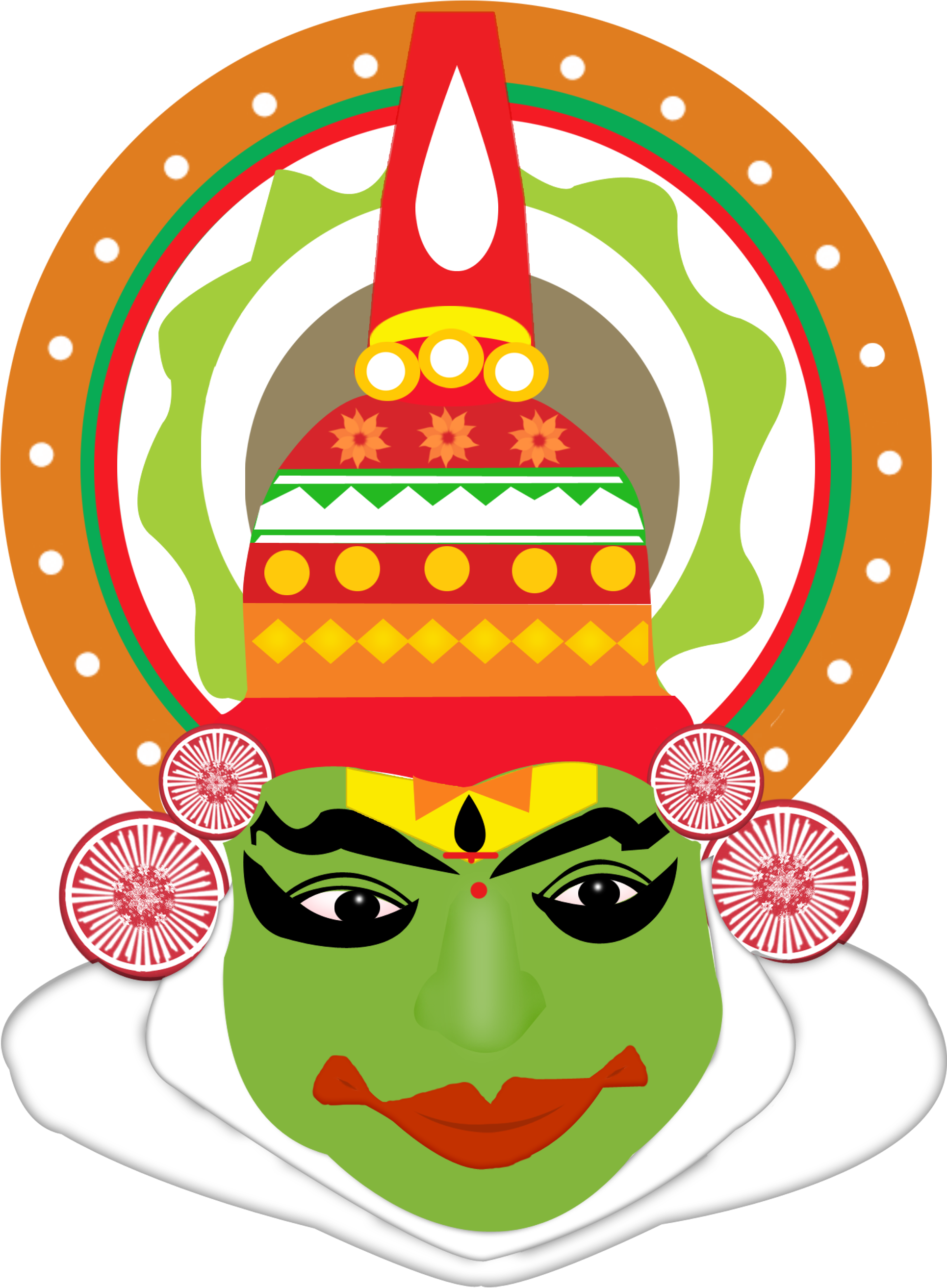Durga drawing. Download hd kathakali face