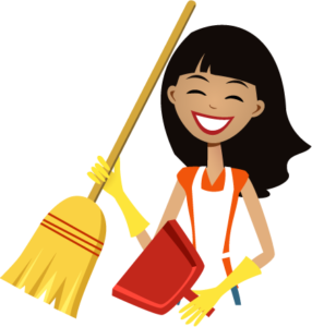 Dust clipart house maids. Spring cleaning archives maid