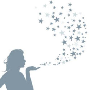 Dust clipart pixie dust png black and white stock