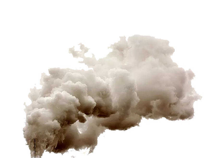 Dust clouds png. Explosion powder smoke of