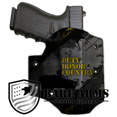 Duty honor country png. Owb bare arms holsters