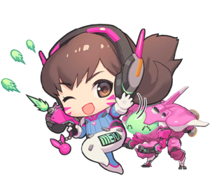 Mini events overwatch wiki. D.va png image black and white download