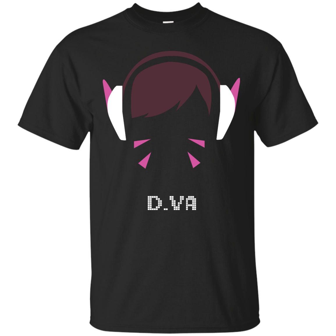 Overwatch shirt d va. D.va vector clip black and white library