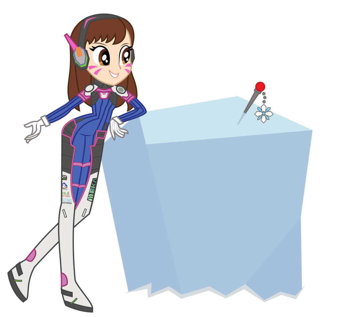 artist sketchmcreations barely. D.va vector image stock