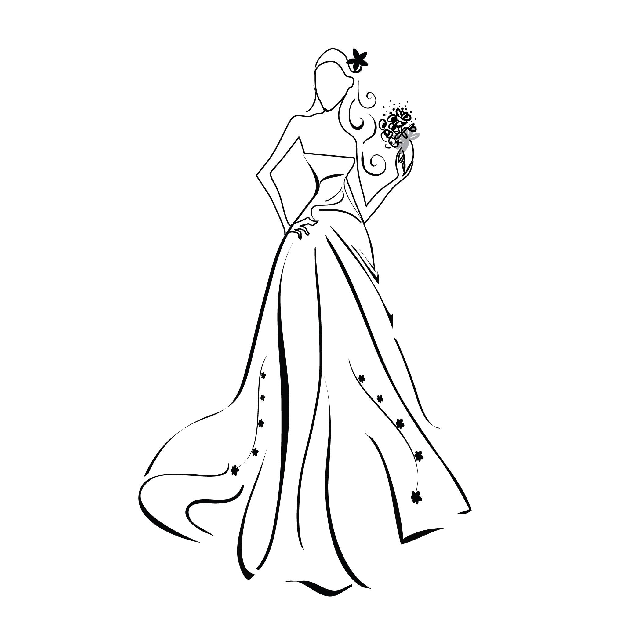 Dynamite drawing prom. Dresses at getdrawings com