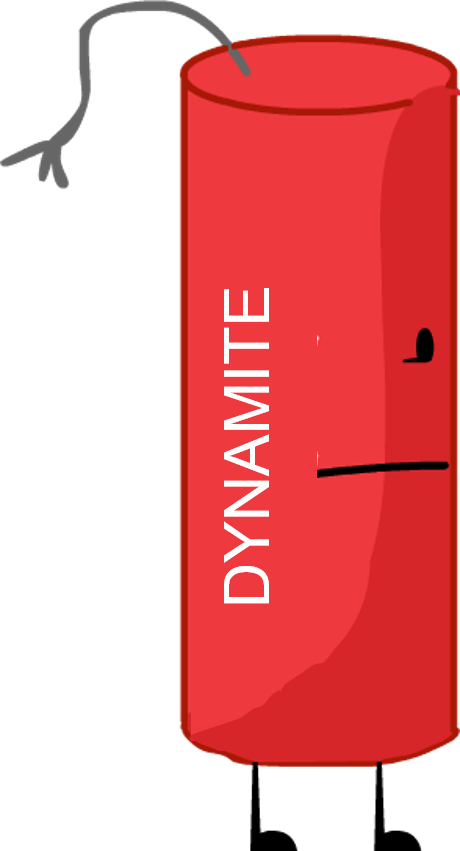 Dynamite transparent bfdi. Recommended character from by